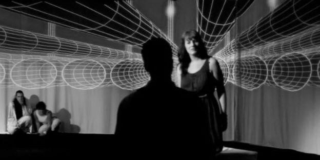 """Bild zeigt 3D Bühnenbild der Inszenierung von """"Der Sommernachtstraum"""" im Sommer 2011."""